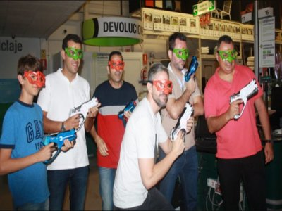Team Building Laser Tag a Santa Cruz de Tenerife