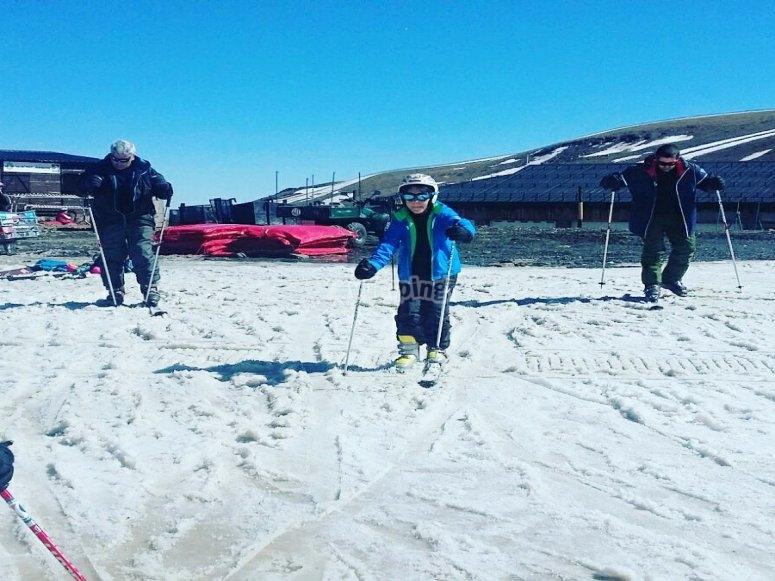 Esquia con el mejor equipo