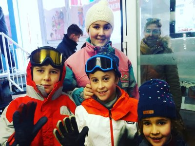 Ski School for Kids High Season Sierra Nevada