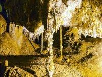Interior de la cueva del Puerto