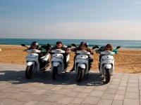 Recorre las playas en moto
