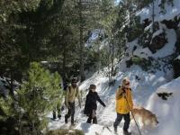 Travesías de trekking en la nieve