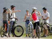 Ruta guiada mountain bike eléctrica Tibidabo