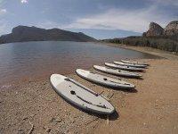 准备一个下午冲浪桨