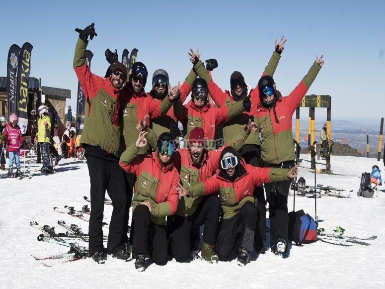 滑雪和滑雪板教练