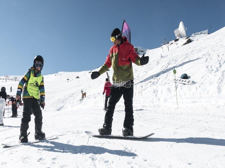 格拉纳达学习滑雪板