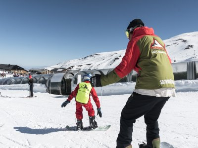 Classe di neve personalizzata in Sierra Nevada 2 h