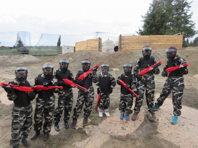 Equipo de paintball