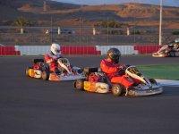 Pilotar un kart de iniciación en Gran Canaria