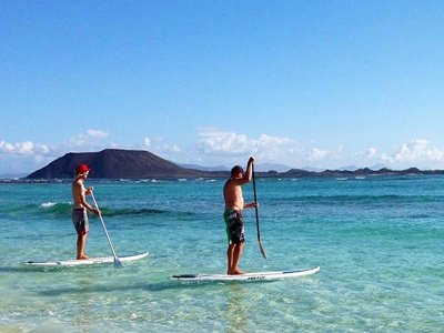 Flag Beach Paddle Surf