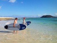 Preparados para un día de Paddle Surf