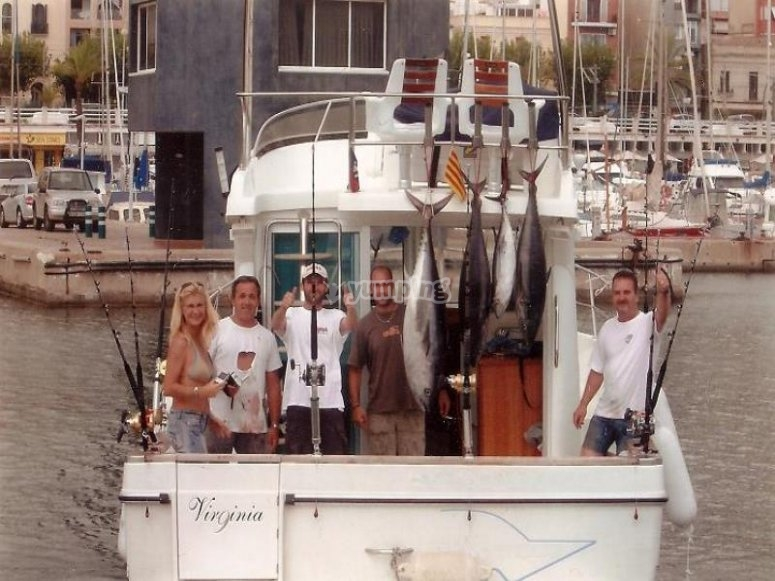 Salida de pesca en Vizcaya