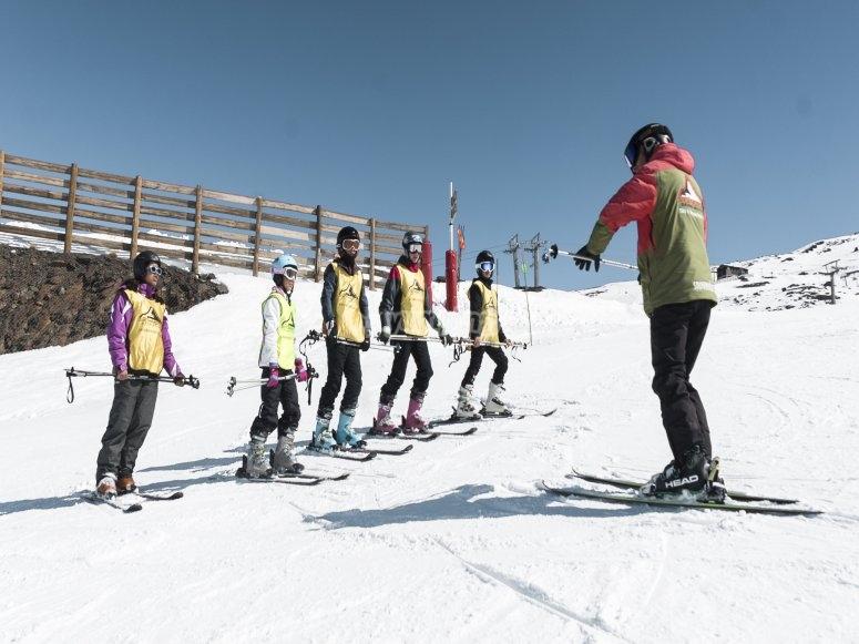 3天滑雪课程格拉纳达