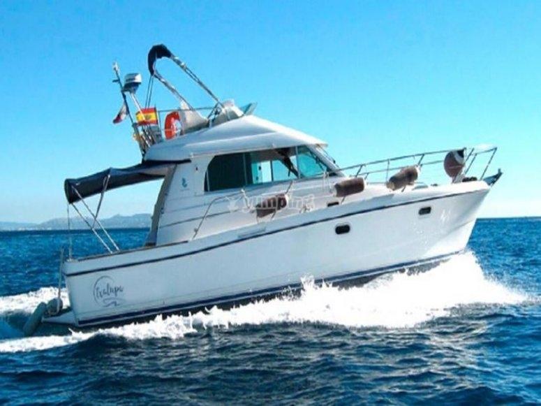 Embarcacion para pescar