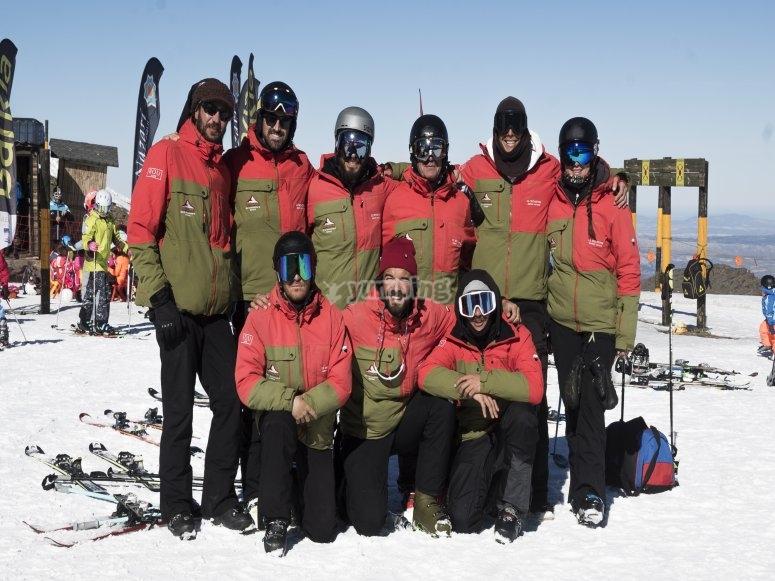 格拉纳达滑雪