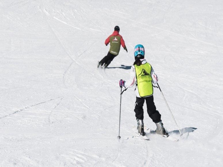 内华达山脉滑雪的技巧