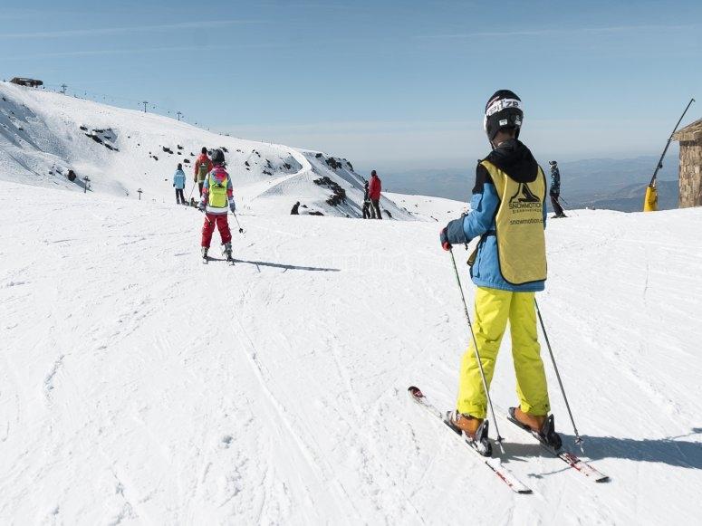 2小时滑雪课改善