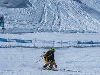 Clase de esquí 2 horas y material completo Granada