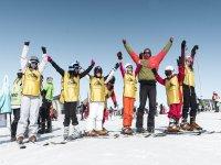 格拉纳达山脉滑雪的日