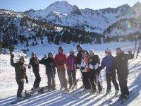grupos de esquí