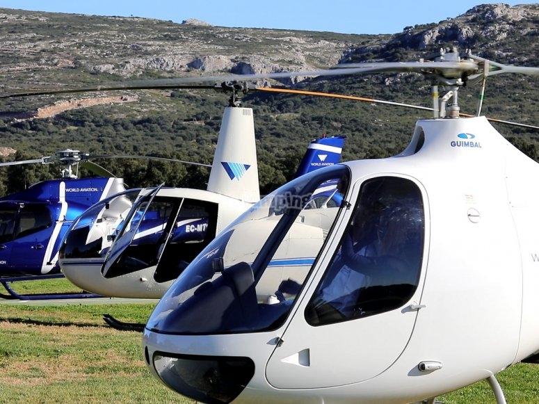 Flota de helicopteros
