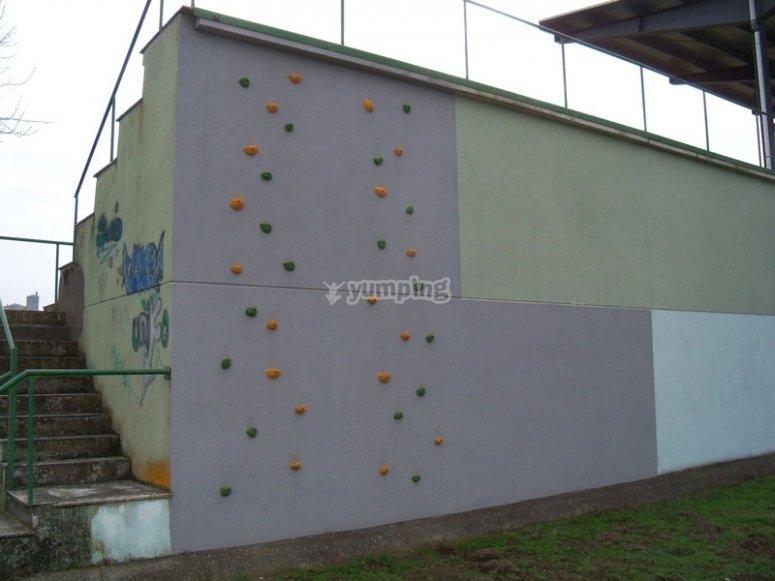 Public rock climbing centre