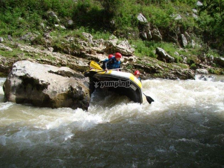 Rafting in Palencia