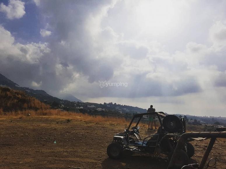 Panoramica de las colinas
