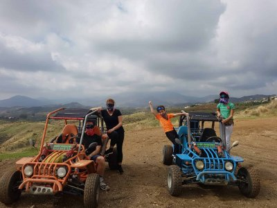 Two-seater buggy tour in Mijas 3 h