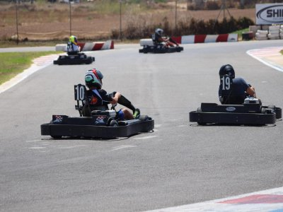 Carrera de Karting Team Building en el Mar Menor
