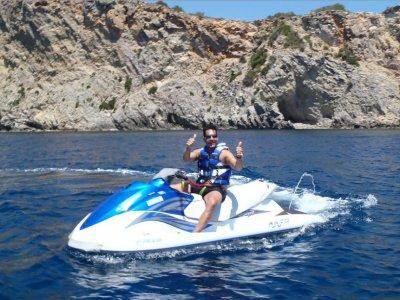 Moto náutica biplaza Playa de Talamanca 15 min