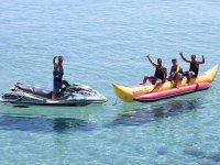 Banana boat en la Costa de la Luz