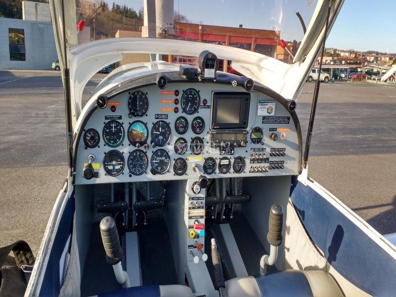 Cabina de la aeronave