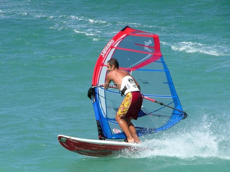 Windsurf in La Manga