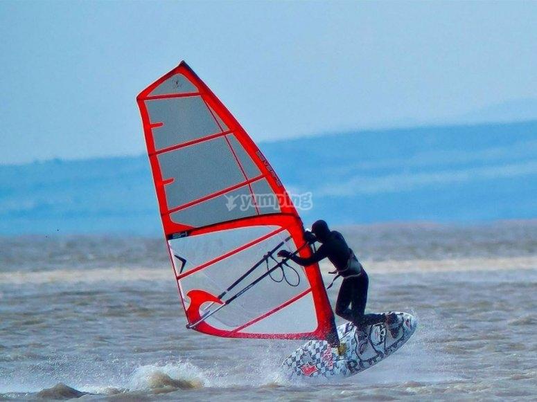 Windsurf en Murcia