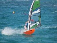 Alquiler material windsurf 1 hora en el Mar Menor