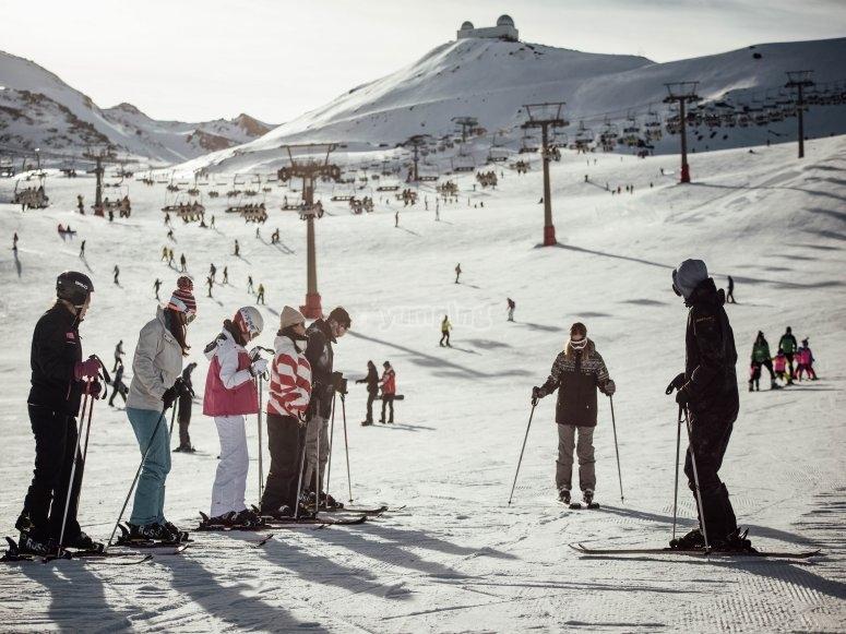 初学者2小时滑雪课程