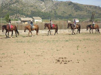 Percorso a cavallo Palma di Maiorca 45 min