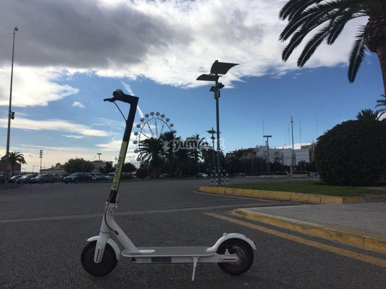 Noleggio scooter elettrico