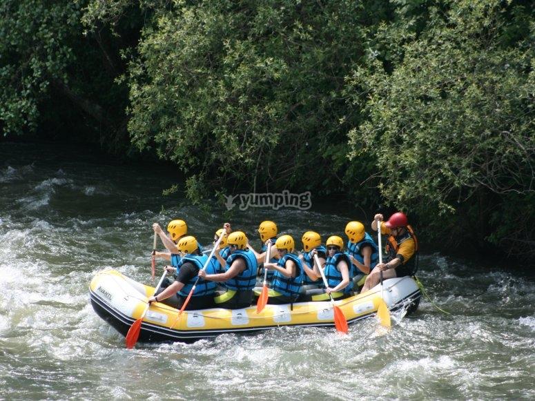 Rafting a Burgos
