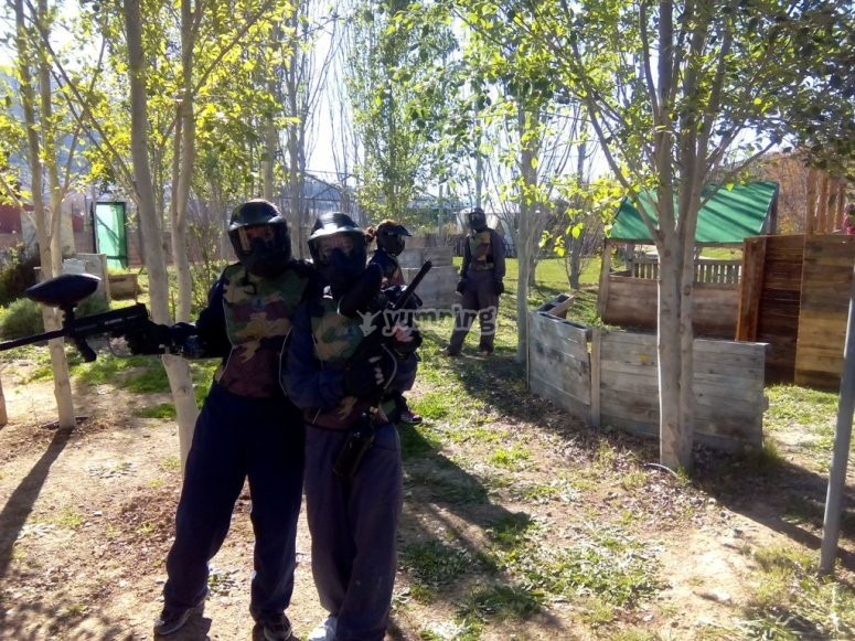 Paintball in coppia