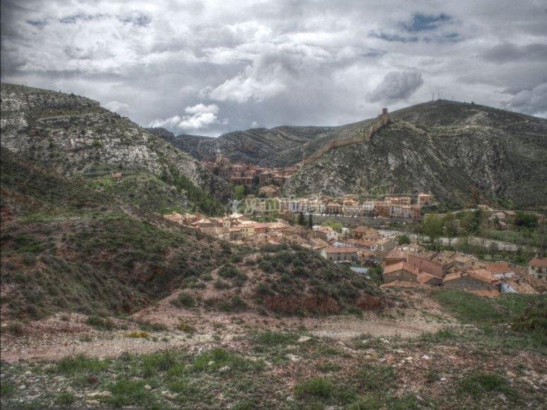 Albarracín town views