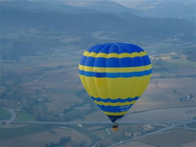 Vuelo en globo exclusivo Sierra de Albarracín 1 h