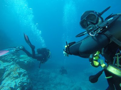Scuba diving for beginners with photos Tenerife