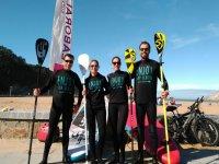 Preparados para una ruta de Paddle Surf