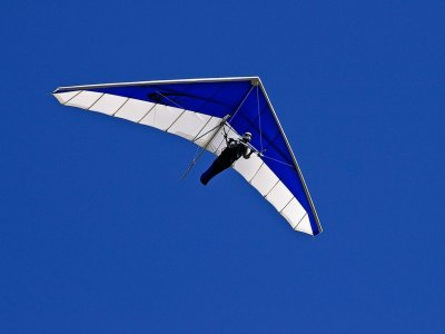 Panoramic Views Hang glider in Ager