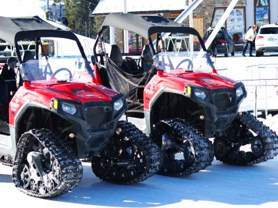 Two-seater Snow Buggy in Grandvalira 2 h