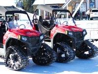 Ruta en buggies por la nieve