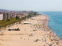 Vistas de Playa Calella
