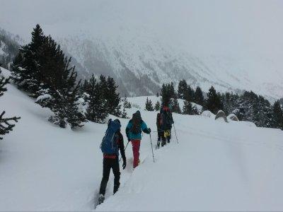 在Espot Ski滑雪游览
